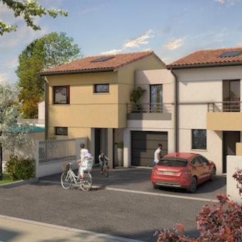 Les Villas de Calliste II – Maisons neuves T3 et T4 – Saint Simon